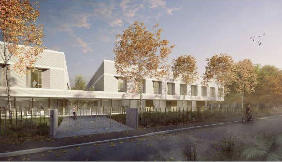 Construction d'un foyer d'accueil médicalisé pour personnes handicapées vieillissantes, à Draveil (91).