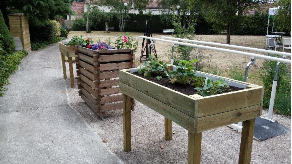 Savez vous qu'il y a un jardin thérapeutique à l'EHPAD du Château d'Eve?