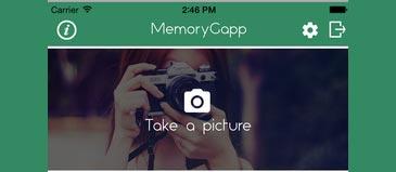 MemoryGapp, une application qui aide les patients atteints de la maladie d'Alzheimer et les aidants